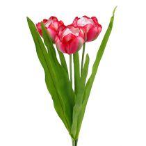 Tulipán artificial Rosa 60cm 3pcs