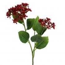 Berry branch rojo viburnum berries 54cm 4pcs