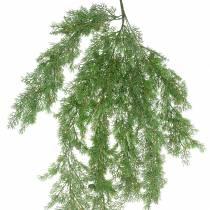 Rama decorativa enebro con conos verde 110cm