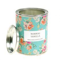 Vela perfumada vainilla en caja de flores Ø6,5cm