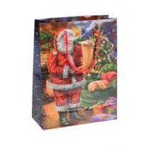 Bolsa de papel Santa 11cm x 13.5cm
