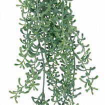 Planta verde colgante planta colgante artificial con cogollos verde, blanco 100cm