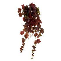 Colgador de hojas de parra verde, rojo oscuro 100cm