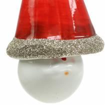 Decoración para Navidad Campana duende 10cm 4pcs