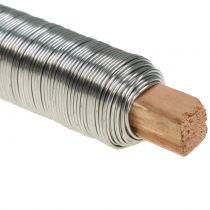 Alambre para bobinar alambre artesanal acero inoxidable 0,65 mm 100g