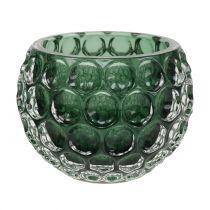 Windlight Glass Verde Oscuro Ø11,5cm H9cm 1pc