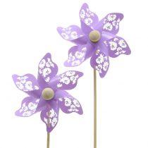 Molino de viento Mini Purple Ø9cm 12pcs