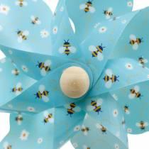 Molinete abejas turquesa Ø16 decoración de verano campanas de viento molino 4pcs