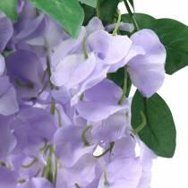 Guirnalda glicina púrpura 175cm 2pcs