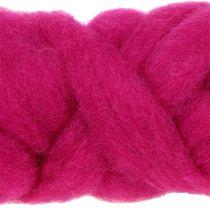 Alfombra de lana 10m rosa