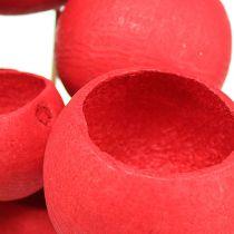 Campana en una mezcla de palo rojo 15pcs