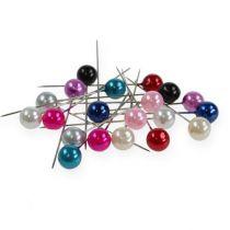 Agujas de perlas Ø10mm 60mm diferentes colores
