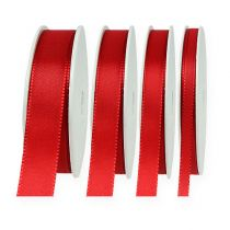 Cinta decorativa roja 50m
