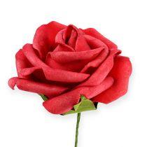 Foam-Rose Ø6cm rojo 27pcs