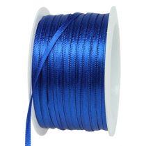 Cinta de regalo azul 3mm 50m