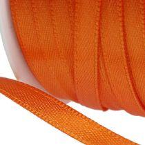 Cinta de regalo y decoración 6mm x 50m naranja