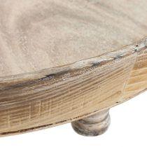 Cuenco de madera marrón Ø40cm