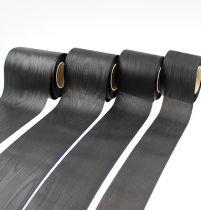 Guirnalda cinta negra vers. Ancho 25m