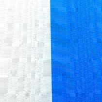 Cintas de guirnalda moiré azul-blanco