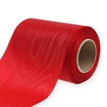 Cinta corona roja 125mm 25m