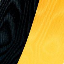 Cintas de guirnalda Moiré amarillo-negro