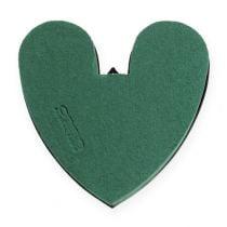 Corazón OASIS® con fondo 17cm 4pcs