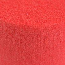 Cilindro enchufable Cilindro Ø8cm Rojo 6pcs