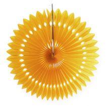 Flower Deco Honeycomb Yellow Ø40cm 4 piezas