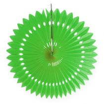 Panal de papel flor verde Ø40cm 4pcs