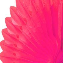 Party Deco flor de panal Rosa Ø40cm 4pcs