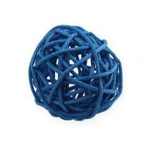 Bola de ratán celeste, azul, azul oscuro 30ud.