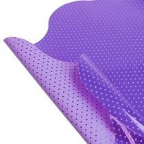 Puños Rondella Ø40cm violeta 50pcs