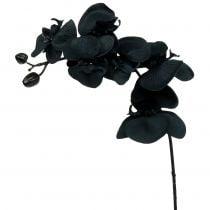 Orquídea para decorar Negro 54cm