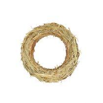 Corona de paja anillos de paja 50 / 10cm