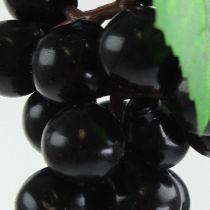 Mini uvas artificiales negras 9cm