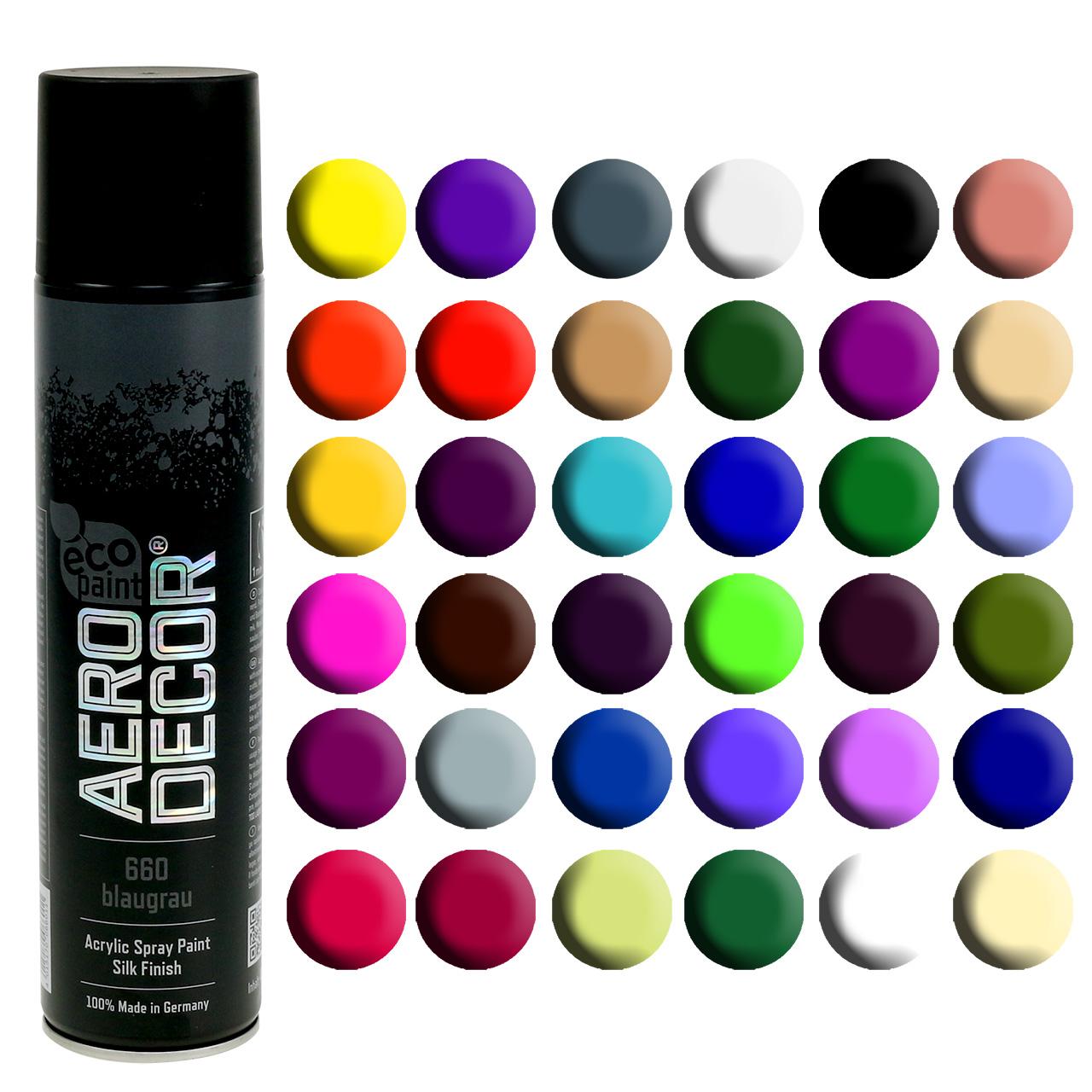 Color spray seda mate varios colores 400ml