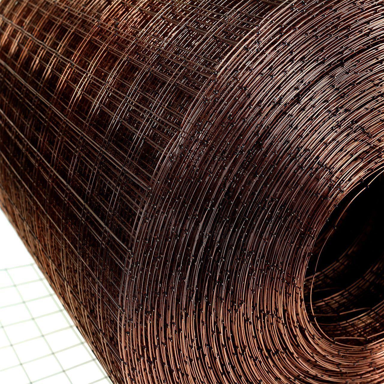Malla de alambre cobreado 35cm 100m