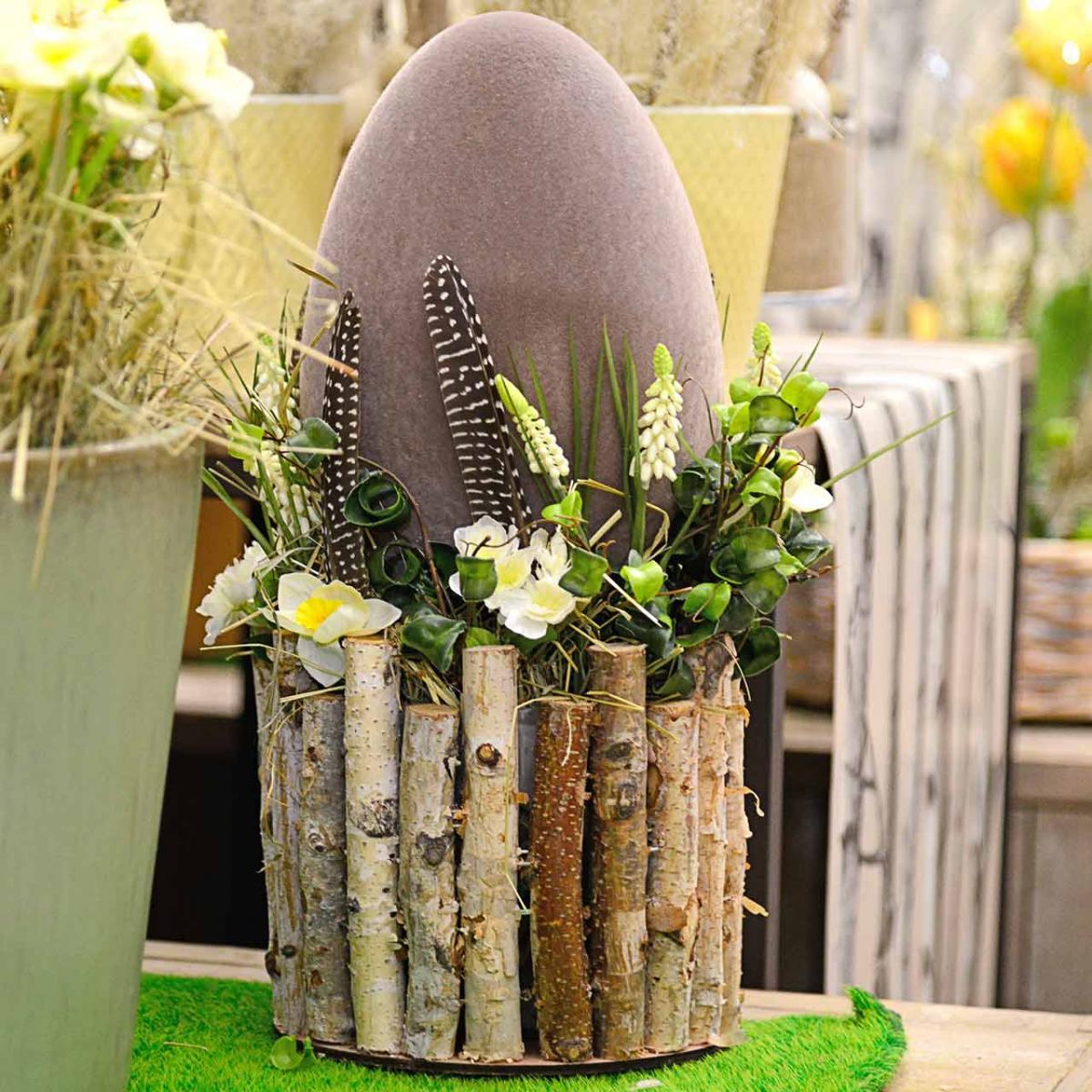 Huevo de Pascua en bandada Al 25cm Huevos de colores Decoración de Pascua