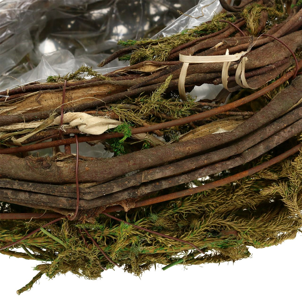 Jardinera de vides y musgo 35cm x 20cm