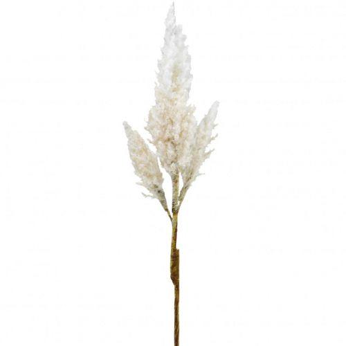 Hierba de pampas blanco crema hierba seca artificial decoracion 82cm