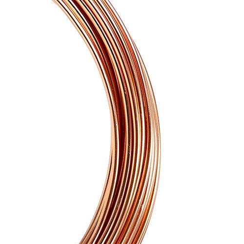 Alambre de aluminio 2mm 100g 12m cobre