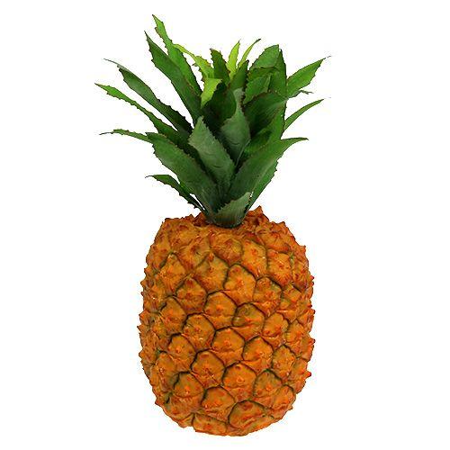 Piña artificialmente 21cm naranja