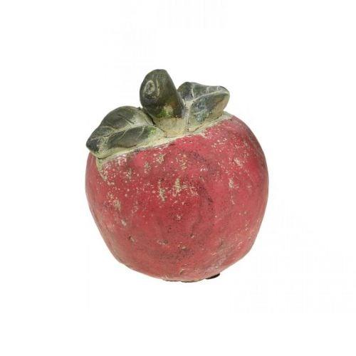 Manzana para decorar, otoño, fruta decorativa de hormigón, decoración de mesa Ø13cm