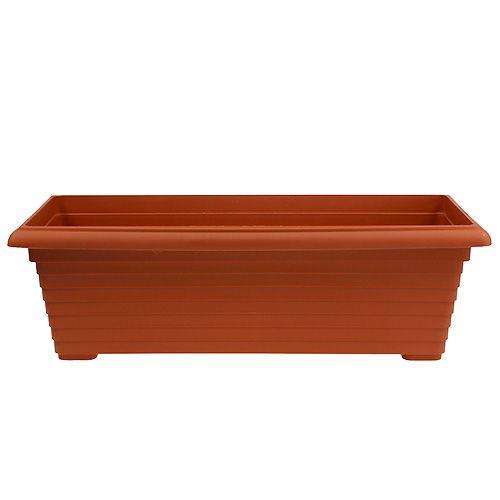 """Caja de balcón """"Nowa"""" terracota 64cm, 1p"""