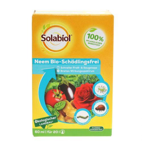 Solabiol Neem orgánico libre de plagas 60ml