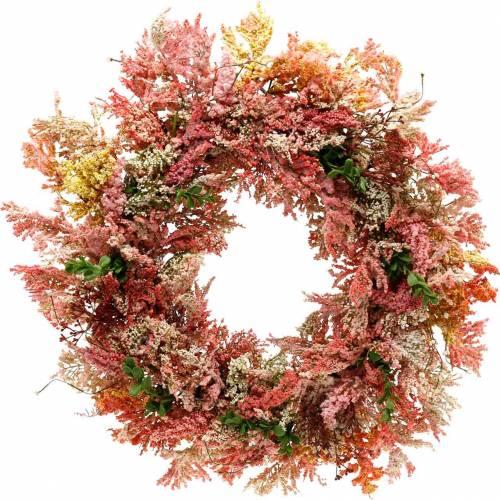 Guirnalda de flores artificiales guirnalda de brezo flores de seda rosa