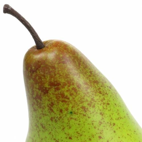 Chupete de comida pera 10,5cm verde 6pcs