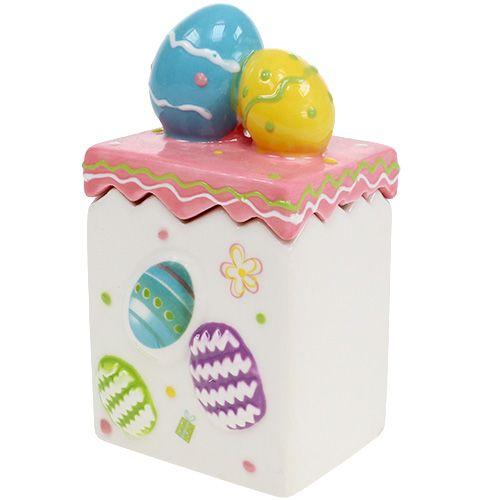 Caja de dulces para Pascua Rosa A13,5cm