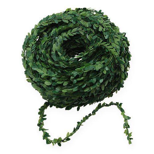 Caja guirnalda verde 15m