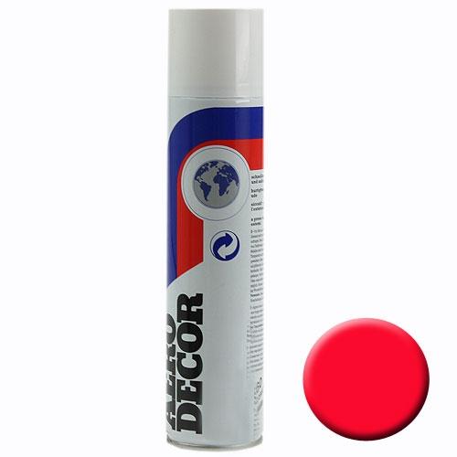 Spray de color rojo fluorescente 400ml